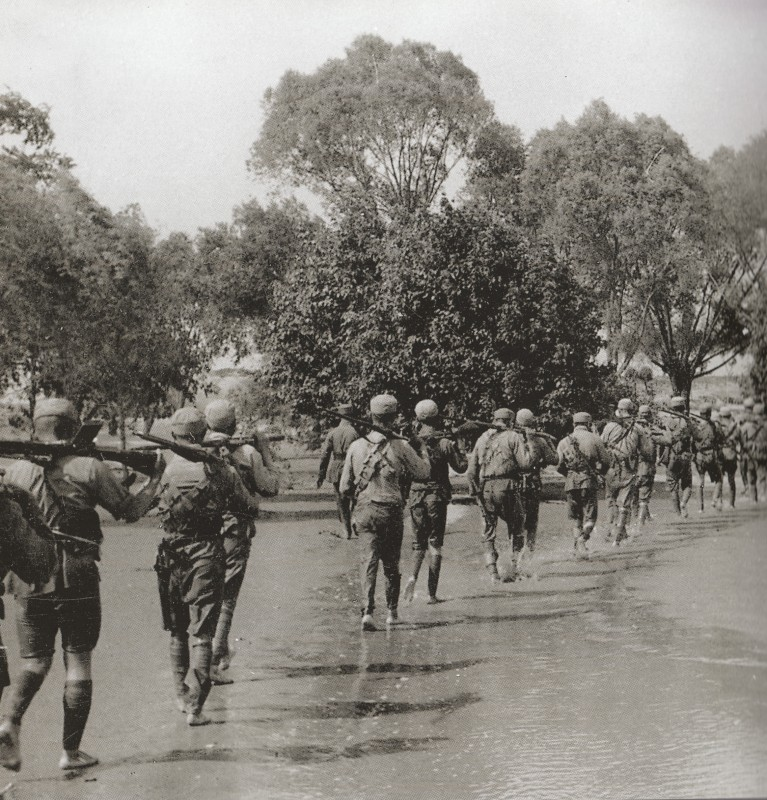 China Nationalist troops Yellow River flood 1938