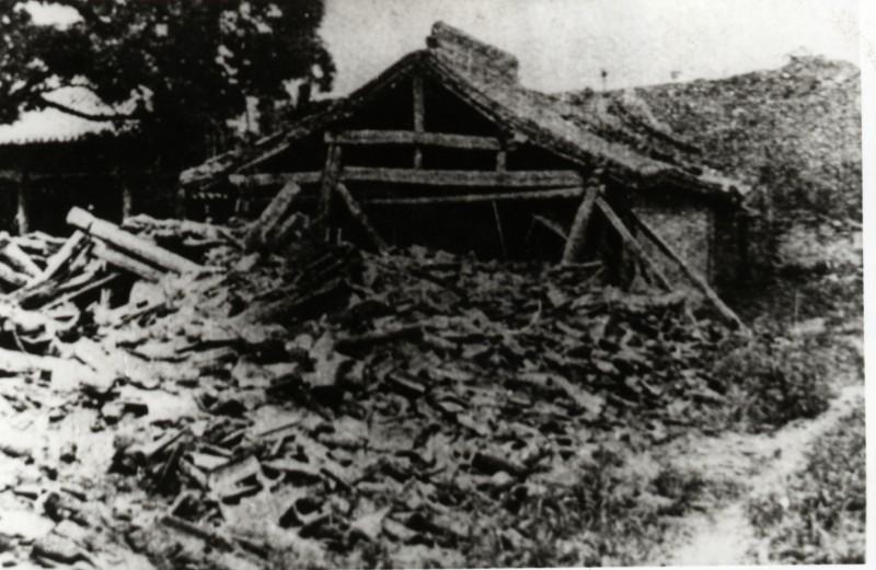 Haiyuan earthquake destruction 1920