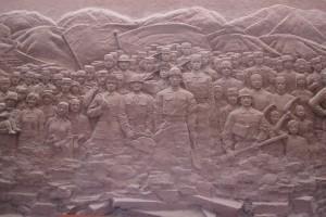 Jianchuan museum, Wenchuan earthquake mural 2008